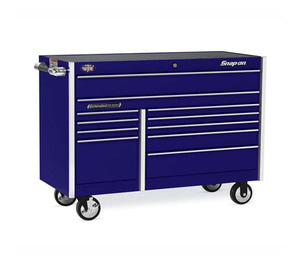"KRL722BPEV 54"" 11 Drawer Double-Bank Masters Series Roll Cab (Purple) 스냅온 마스터 시리즈 54인치 더블 뱅크 툴박스 (퍼플)"