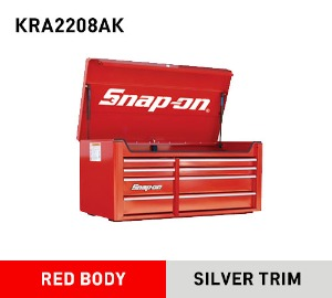 KRA2208AK Heritage Series 8 Drawer Wide Top Chest, Classic Red 스냅온 헤리티지 시리즈 탑체스트