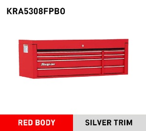 "KRA5308FPBO Top Chest, Double Bank, 8 Drawers, 53"" Wide 스냅온 탑체스트"