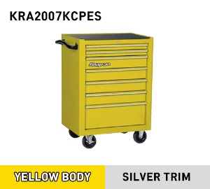 KRA2007KCPES Roll Cab, 7 Drawers, Ultra Yellow 스냅온 7단 메케닉 입문용 툴박스 (옐로우)