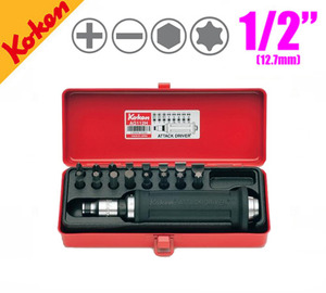 KOKEN AG112H Attack Driver Set (18 pcs) 코켄 타격드라이버 세트 (18 pcs)