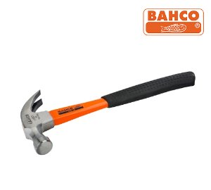 BAHCO 428-16 Claw Hammers with Rubber Grip Fibreglass Handle 바코 충격방지 핸들 크로우해머/장도리/빠루망치