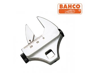 "BAHCO 1950MZ 3/8"" Drive Crowfoot Adjustable Wrenches 바코 크로우풋 렌치(인치/밀리)"
