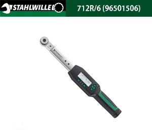 STAHLWILLE 712R/6 (96501506) ELECTRONIC SENSOTORK 712R Torque Wrenches with Reversible Ratchet Insert Tool 3-60 N.m 스타빌레 디지털 토크렌치 (3-60 N.m)