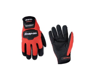 GLOVE500RLB Technicians SuperCuff® Gloves, Large (Red/ Black) 스냅온 테크니션 슈퍼커프 장갑 (Red/ Black) (Large)
